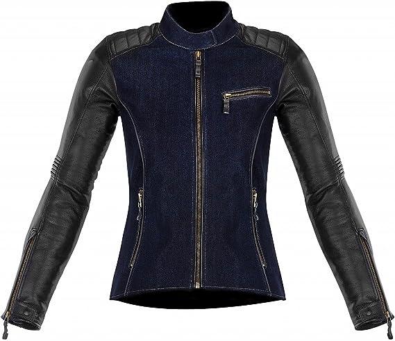 blouson alpinestars femme cuir et jean