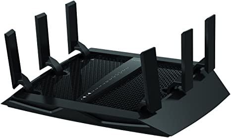 NETGEAR Nighthawk X6 - AC3200 Tri-Band WiFi Gigabit Router (R8000) Routers (Computers & Accessories) at amazon