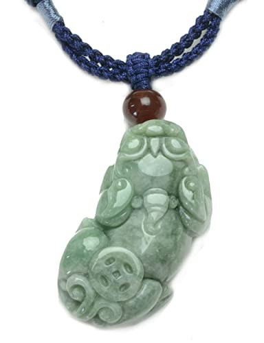 Auspicious feng shui tiger dark green carved jade gemstone pendant auspicious feng shui tiger dark green carved jade gemstone pendant necklace fortune jade jewellery mozeypictures Gallery