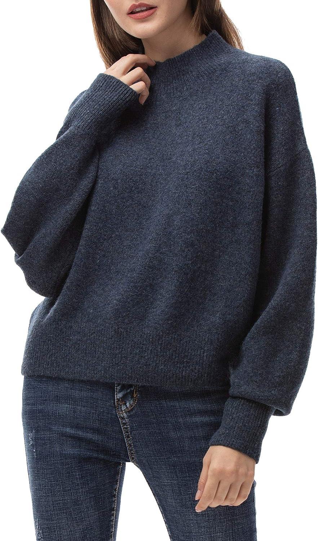 Woolen Bloom Maglione Donna Autunno Felpa Ragazza Pullover Invernali Elegante Felpa Donna Tops Natale per Tempo Libero Lavoro Vacanze