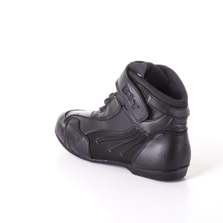 EU 42//8 UK Bolt R22 Caviglia Stivali da Uomo Moto Urbano Corto Turismo Viaggio Adventure Antiscivolo Bagagliaio Protezione Scarpe