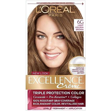 amazon com l oréal paris excellence créme permanent hair color 6g