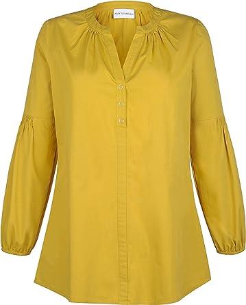 Amy Vermont Camisas - Para Mujer Dorado 44: Amazon.es: Ropa y ...