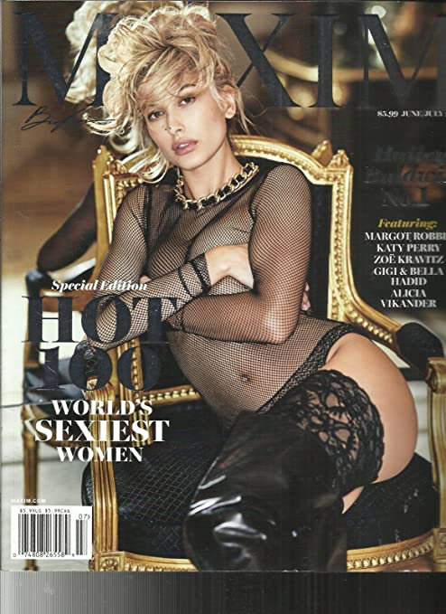 9c0668158156 Amazon.com : MAXIM MAGAZINE, SPECIAL EDITION HOT 100 WORLD'S SEXIEST WOMEN  JUNE / JULY, 2017 : Everything Else