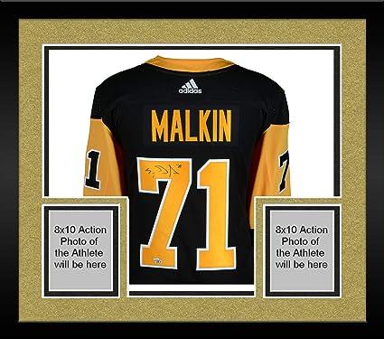 release date: d4da8 83bd5 Framed Evgeni Malkin Pittsburgh Penguins Autographed Black ...
