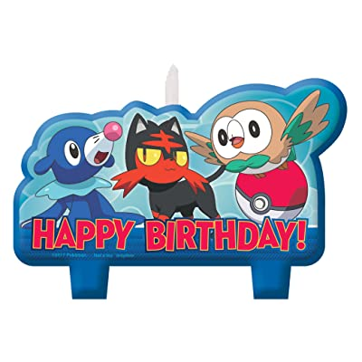 Amscan 171859 Pokemon Birthday Candle Set, Multicolor, Standard: Toys & Games [5Bkhe0205956]