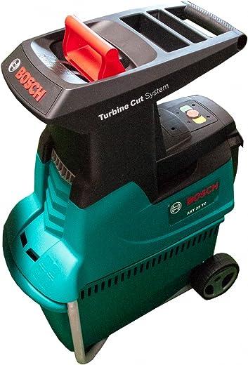 Bosch fluisterhakselaar AXT 25 TC (2500 W, 53 liter opvangbak, snijcapaciteit: dia. 45 mm, in kartonnen doos)
