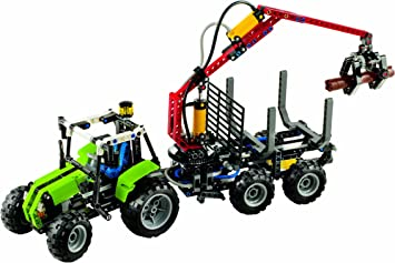 LEGO 8049 Jeu de Construction Technic La Chargeuse à Bois