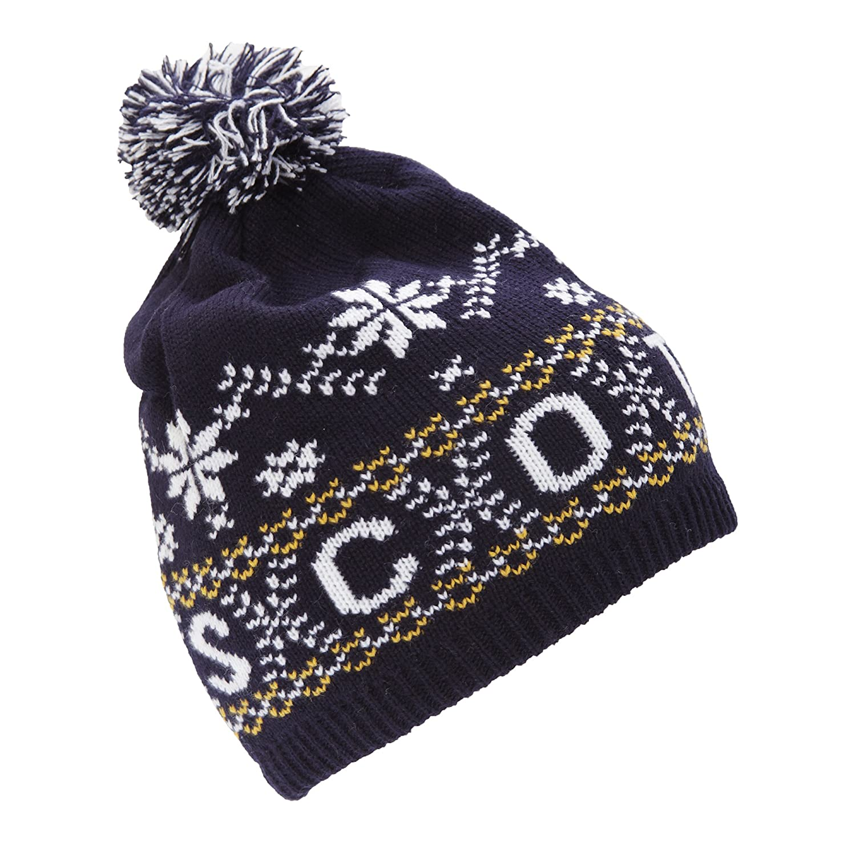 De alta calidad Scotland Gorro beanie de invierno con borla Modelo Unisex  adultos 347f9da9ef6