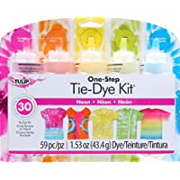 Tulip 31673 One Step Tie-Dye Kit 5 Colour, Neon