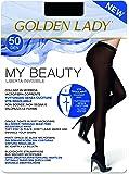 Goldenlady My Beauty 50 Medias, 50 DEN, Negro (Negro 099a), X-Large (Talla del fabricante: 5 – XL) para Mujer