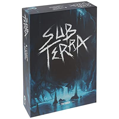 Sub Terra Board Game Strategy Board Game: Toys & Games