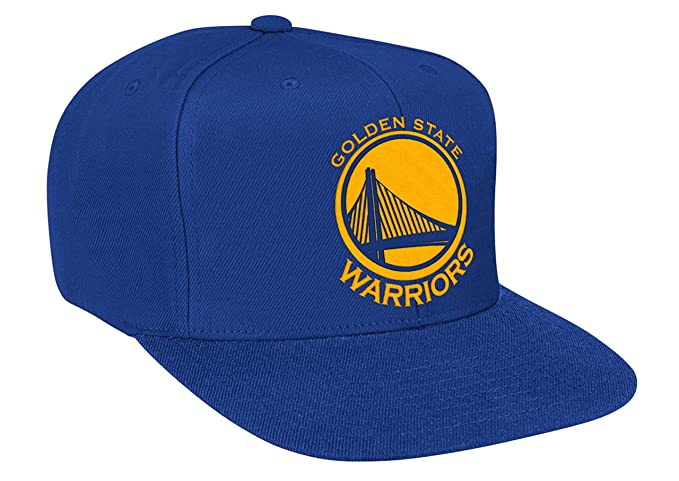 30a1594f22dbb4 Image Unavailable. Image not available for. Color: Golden State Warriors  NBA Mitchell & Ness Solid Team Logo Adjustable Snapback Hat