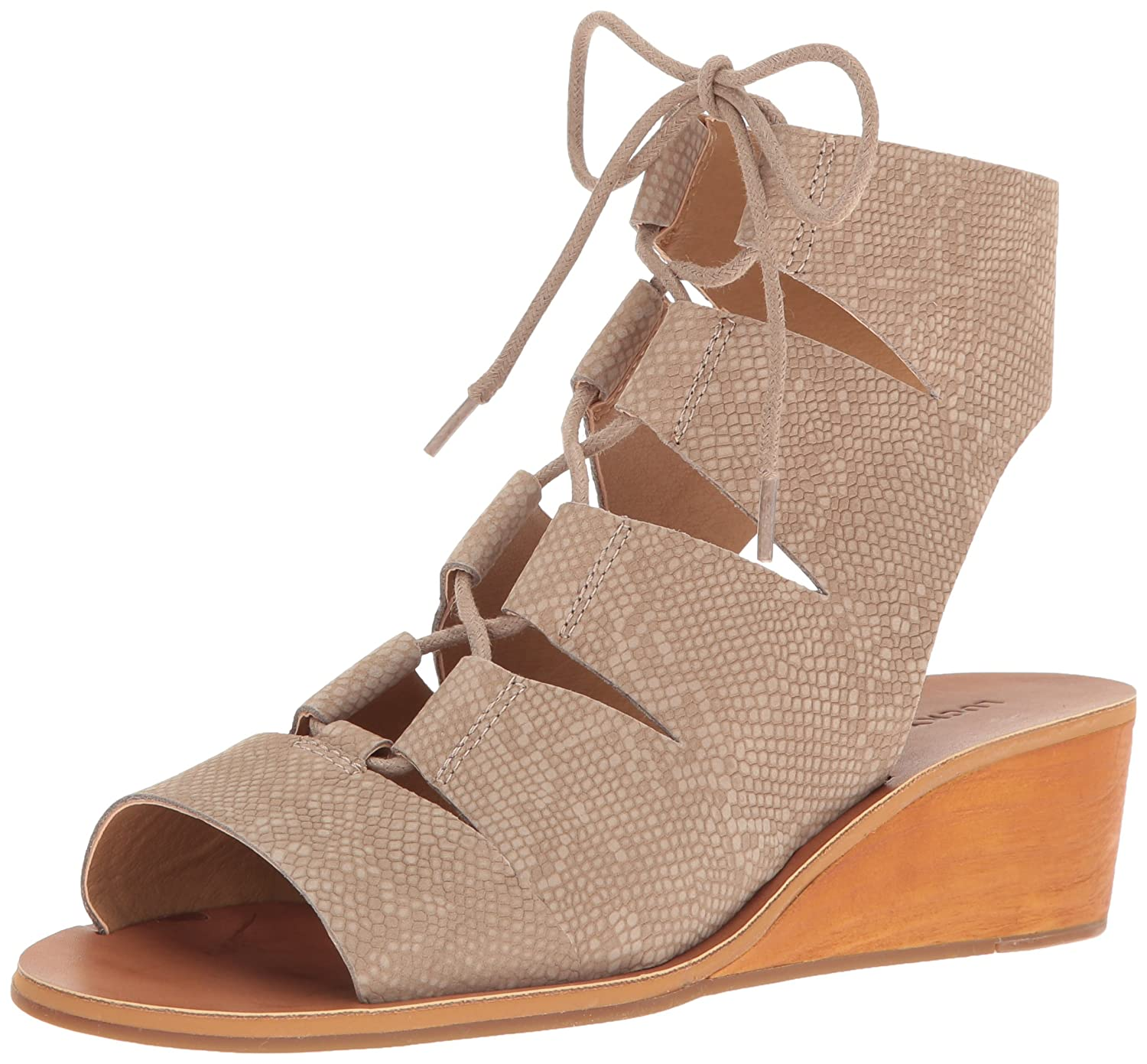 Lucky US|Feather Brand Women's Gizi Sandal B01N00Y305 9 M US|Feather Lucky Grey 0fbac1