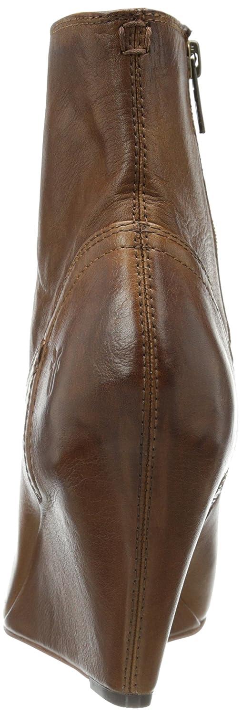 FRYE Women's Regina Covered Wedge Boot B00HFC1SZ2 6 B(M) US|Cognac