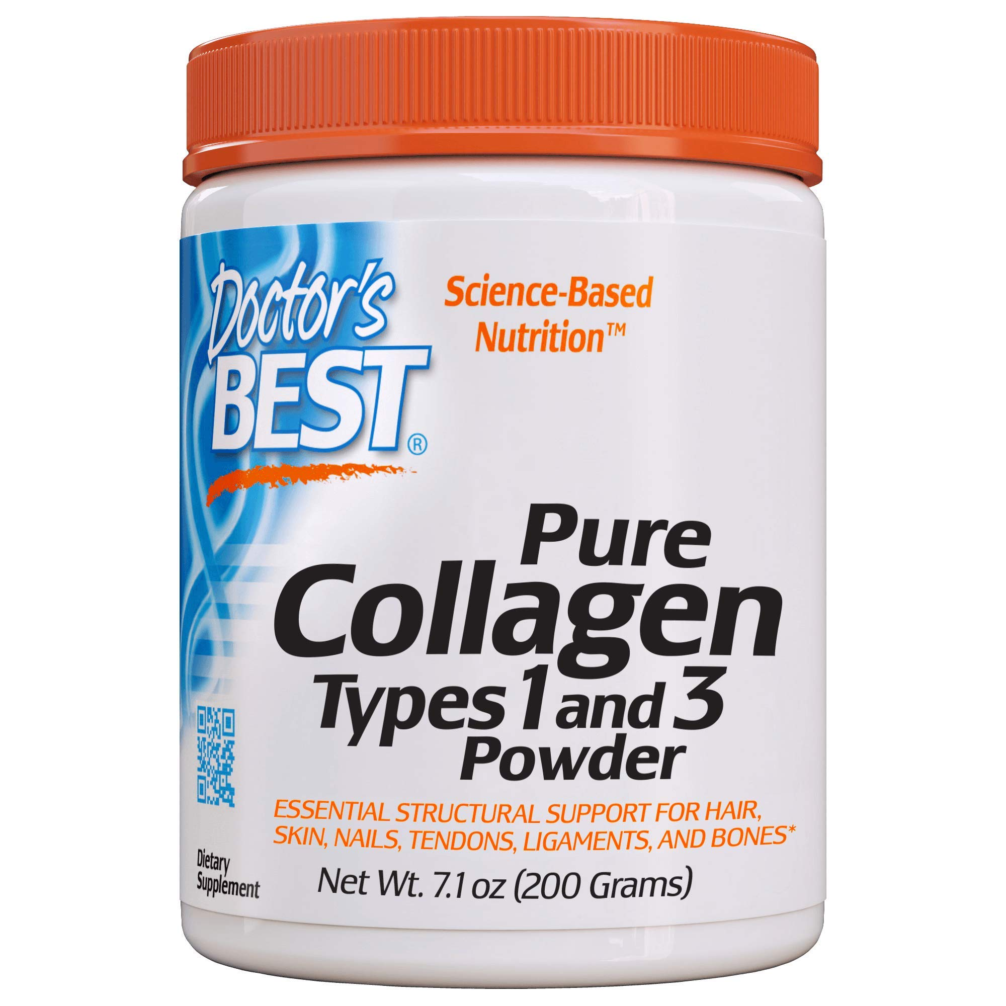 Doctor's Best Best Collagen Types 1 and 3, 7.1 Ounce (200-grams)