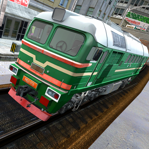 Euro Train Driving 3D Game: Train Driving Simulator (Best 3d Engine For Android)