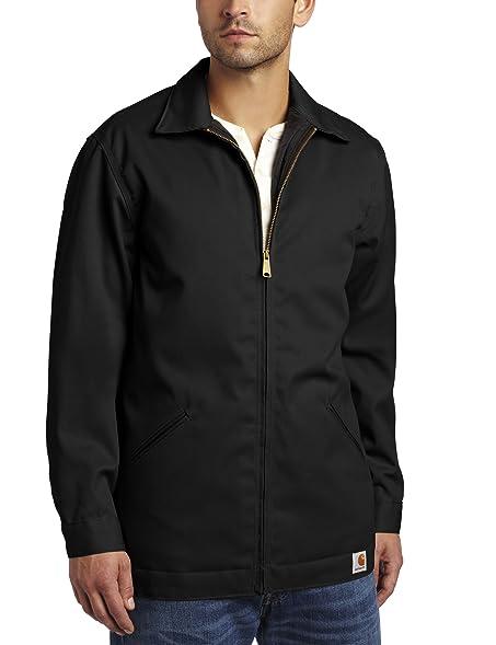 Amazon.com: Carhartt Men's Big & Tall Twill Work Jacket: Work ...