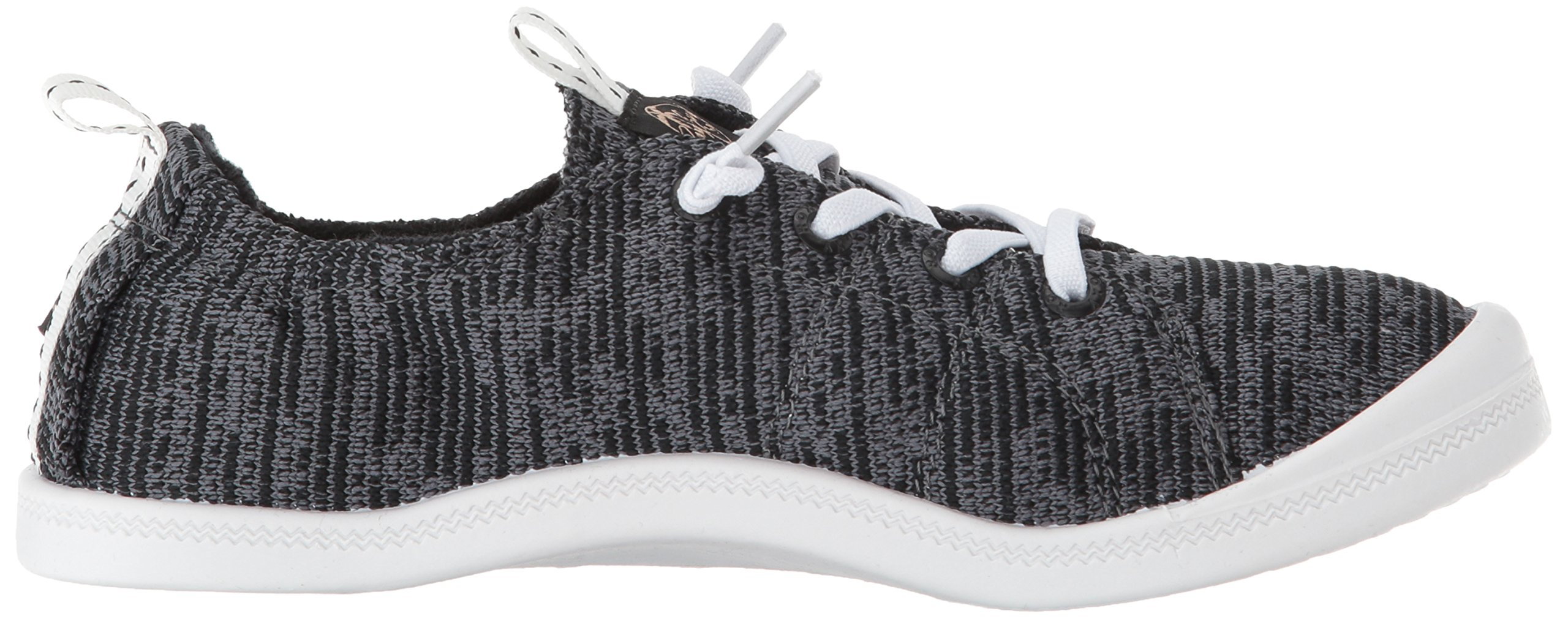 Roxy Women's Bayshore Sport Slip on Shoe Fashion Sneaker, Black, 8.5 M US by Roxy (Image #6)