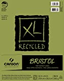 "Canson XL Series Recycled Bristol Pad, 11""x14"" Fold Over Bound"