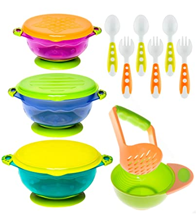 Bowls & Plates Well-Educated Scoop Plate Non-slip Suction Cup Tableware Various Colors White More Discounts Surprises