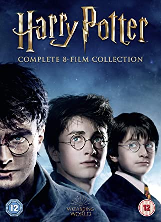 Harry Potter: The Complete 8 Film Collection 16 Dvd Edizione ...