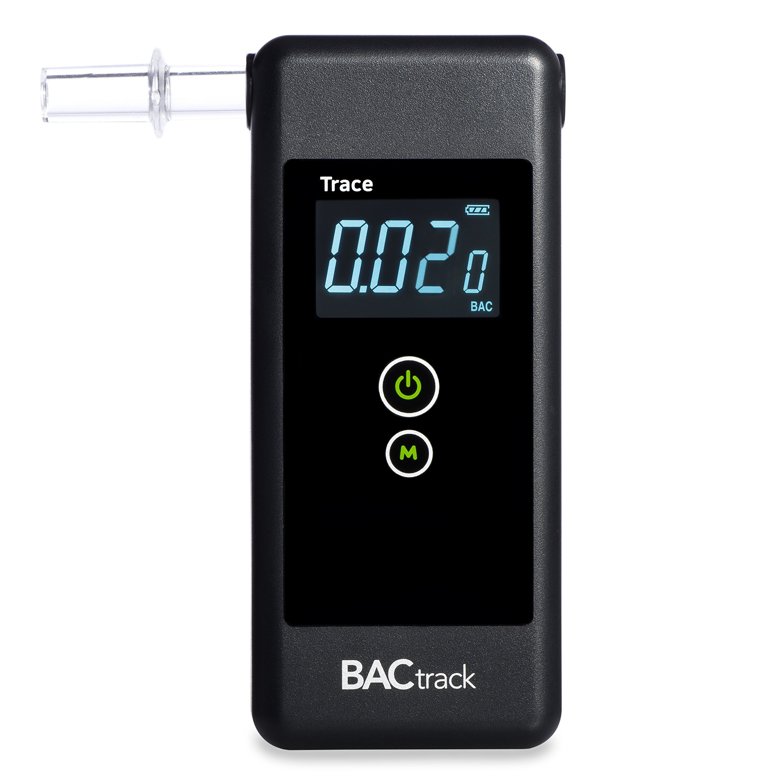 BACtrack Trace Breathalyzer | Professional-Grade Accuracy | DOT & NHTSA Compliant | Portable Breath Alcohol Tester for Personal & Professional Use by BACtrack