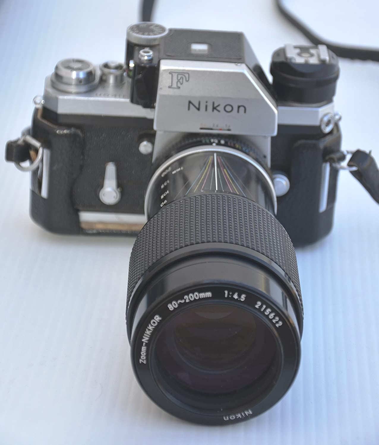 Nikon F with Photomic T meter professional SLR film camera