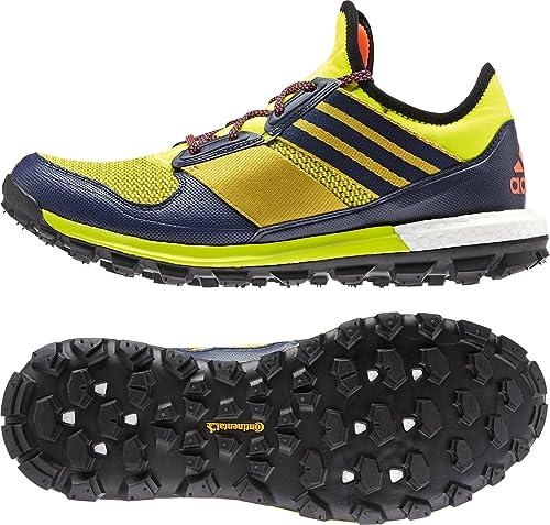 adidas uomini delle tracce di scarpe da corsa multicolore dimensioni: 11:
