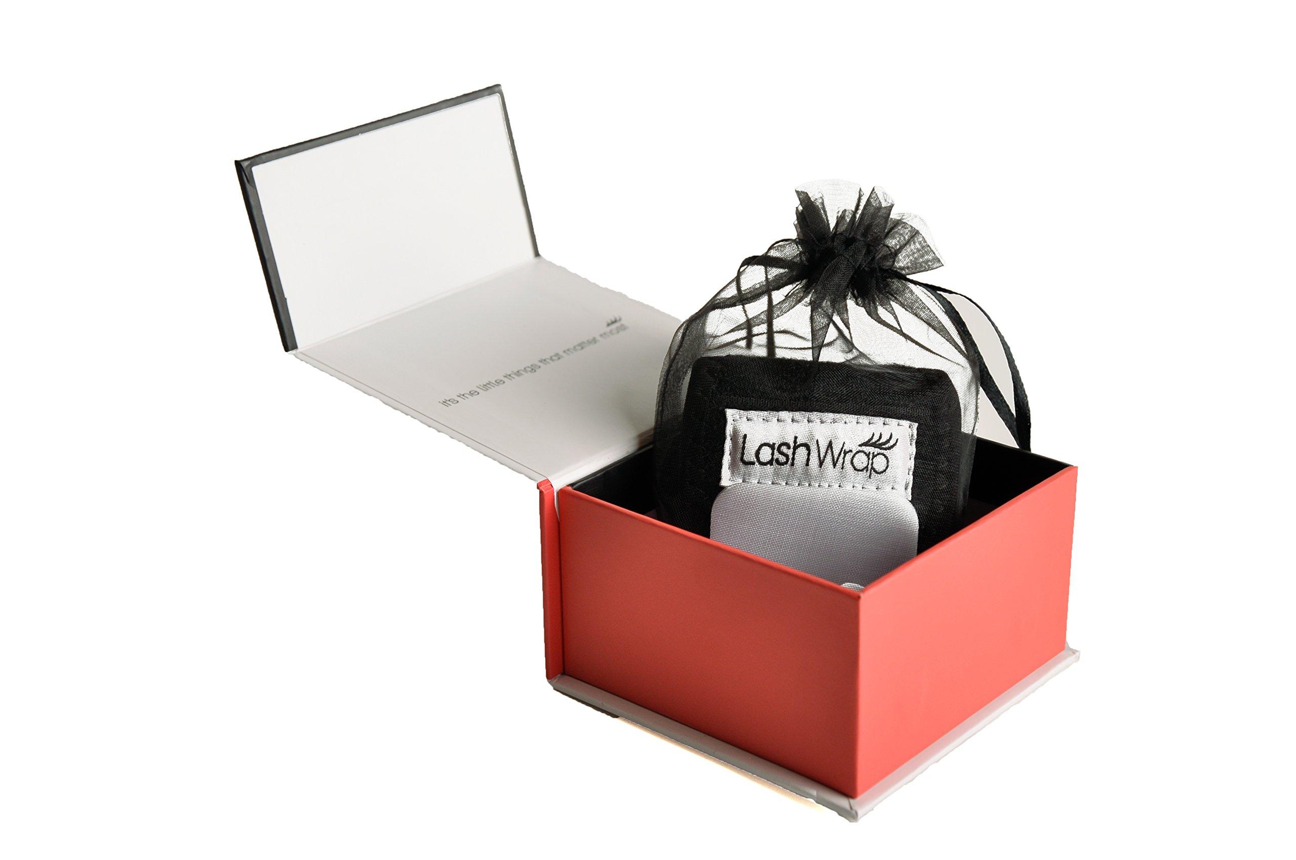 LashWrap Eyelash Extension Application Tool - Wrist Wrap with Lash Palatte - One Size ... (Black)