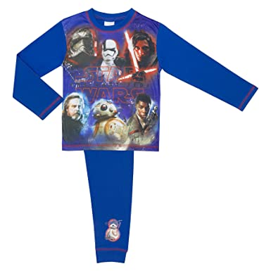 Star Wars The Last Jedi Boys Pyjamas - Age 4 - Last Jedi 4-5