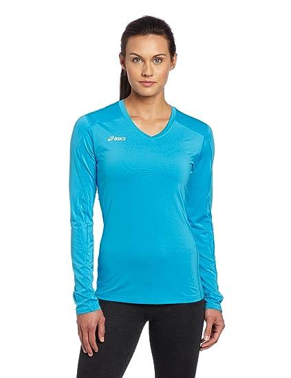 225d381ef14 Amazon.com : ASICS Women's Roll Shot Jersey : Volleyball Jerseys ...