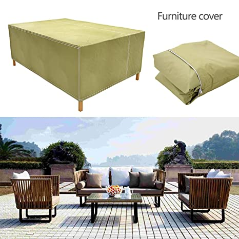Amazon Com High Back Patio Chair Furniture Storage Waterproof Dust