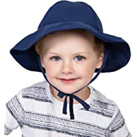 Sun Hat for Baby Girls & Boys - Newborn, Infant, Toddler, Kids Beach & Pool Swim Hat - UV Protection UPF50+ Bucket…