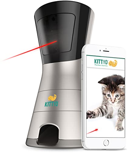Kittyo Wi Fi HD Pet Camera, 2 Way Audio, Video Recording,