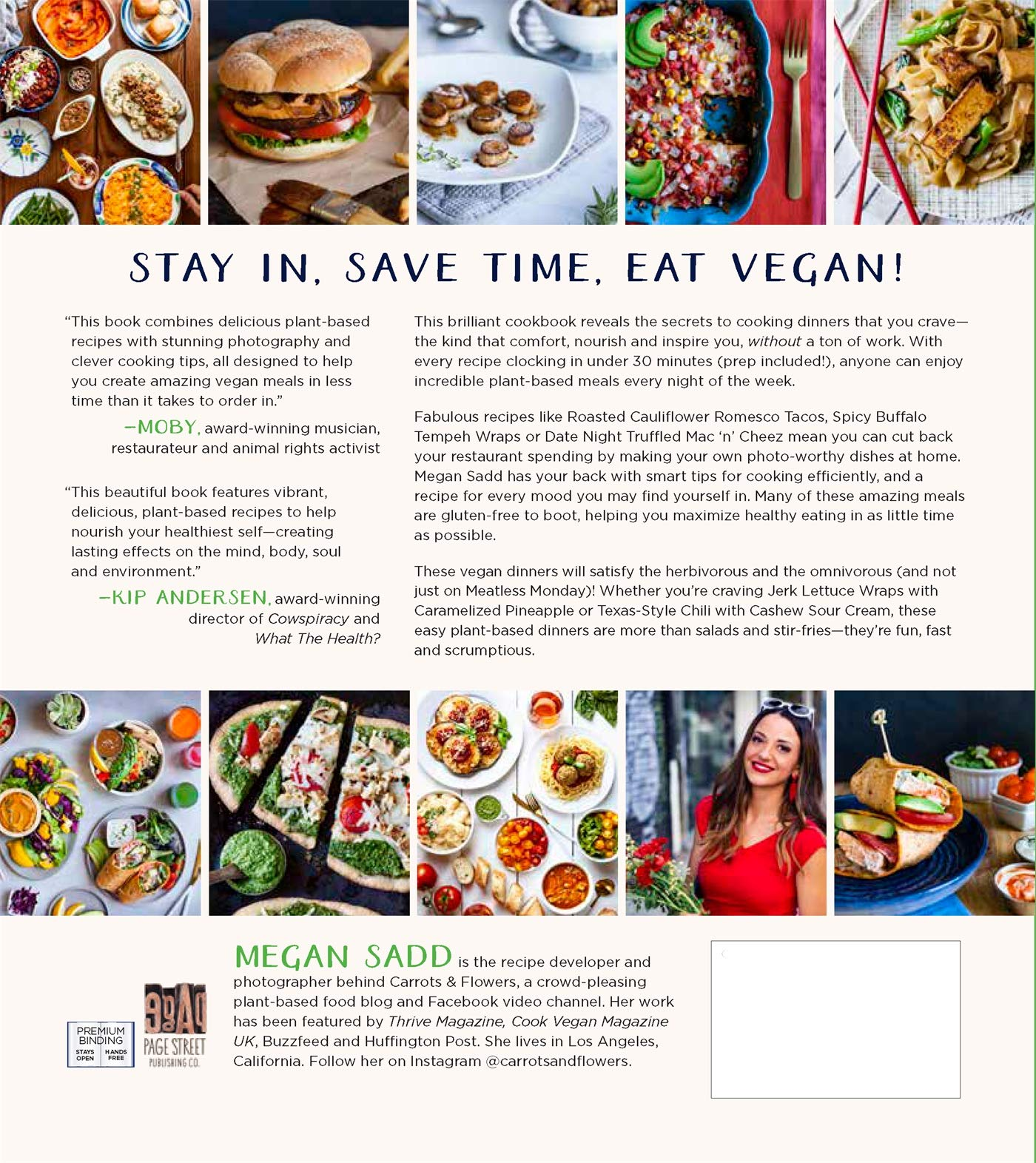 30-Minute Vegan Dinners: Amazon co uk: Megan Sadd
