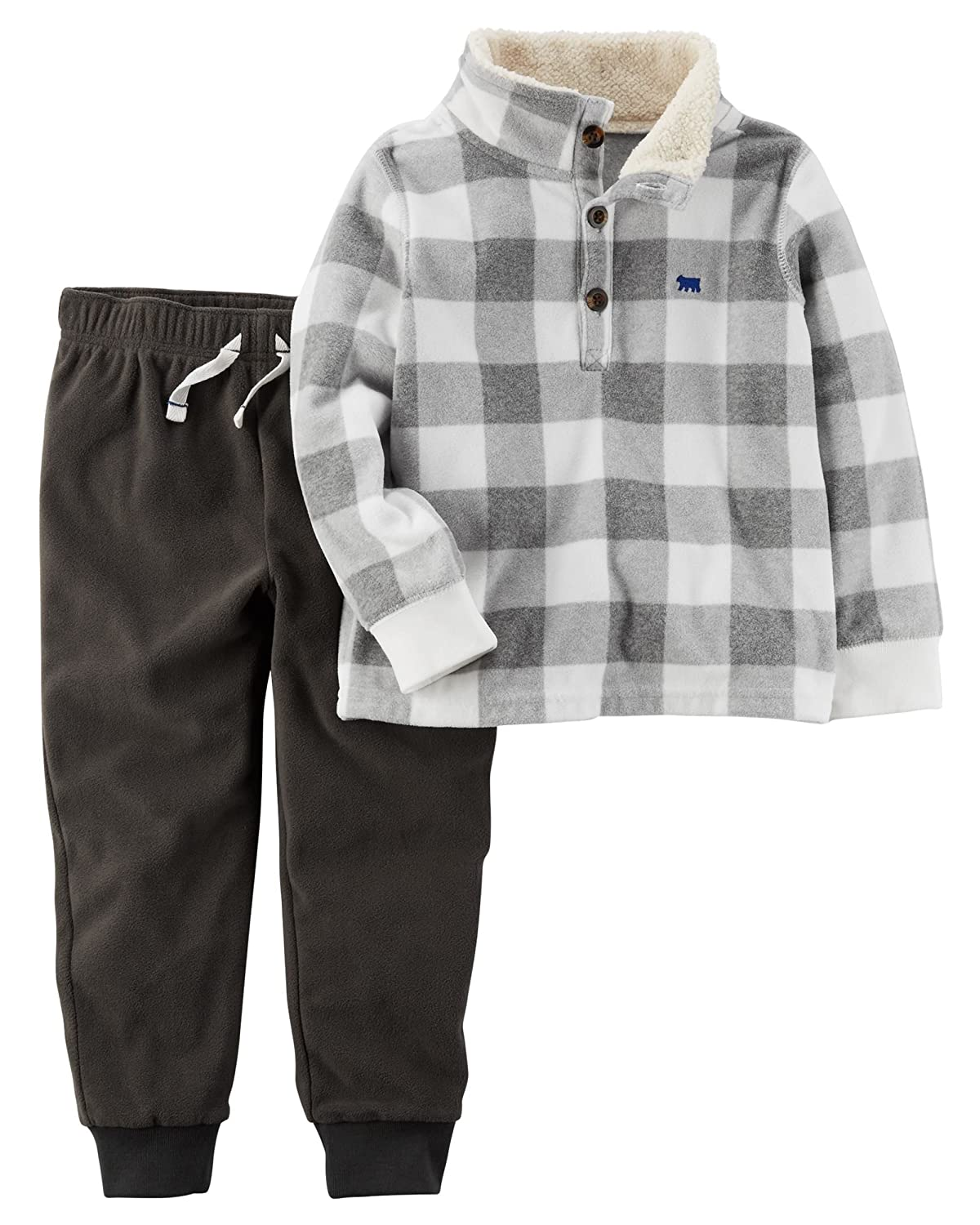 Carter's Boys' 3M-4T 2 Piece Long Sleeve Top and Pants Set Carters