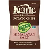 Kettle Brand Potato Chips, 100% Avocado Oil Himalayan Salt, 4.2 Ounce (Pack of 15)