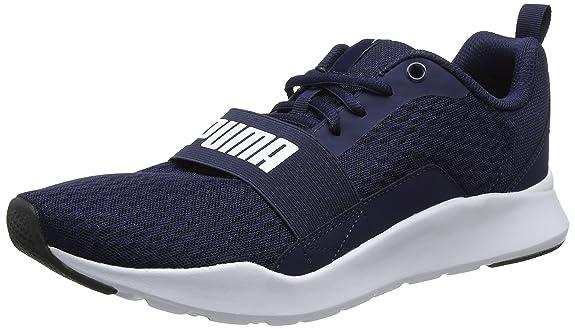 PUMA Wired, Zapatillas para Hombre, Azul (Peacoat-Peacoat White), 39 EU: Amazon.es: Zapatos y complementos