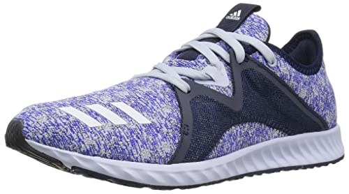 adidas Performance Women's Edge Lux 2 W, Aero Blue/Collegiate Navy/White, 5 Medium US Best Breathable Mesh Running Shoes for Women