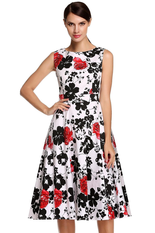etuoji XX-Large DRESS レディース レディース B076MK7F1D XX-Large|レッドフローラル レッドフローラル DRESS XX-Large, セイコー時計専門店 スリーエス:4e68656e --- aitaocity.com