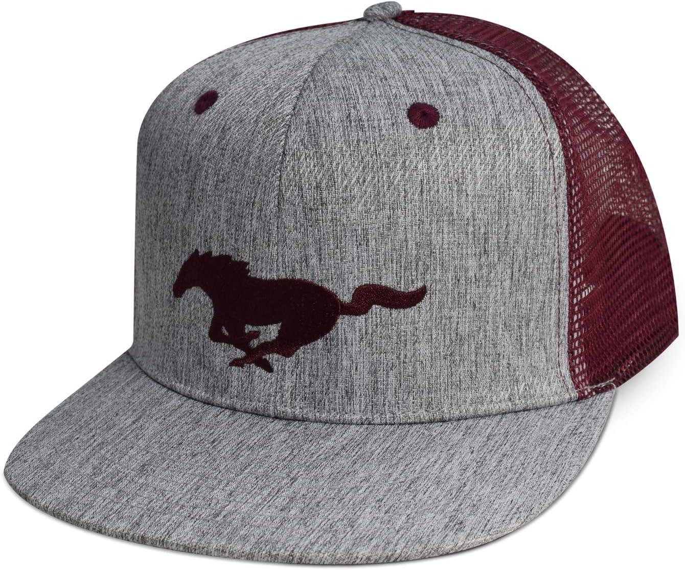 Ford Mustang Flat-Bill Mesh Baseball Cap CarBeyondStore