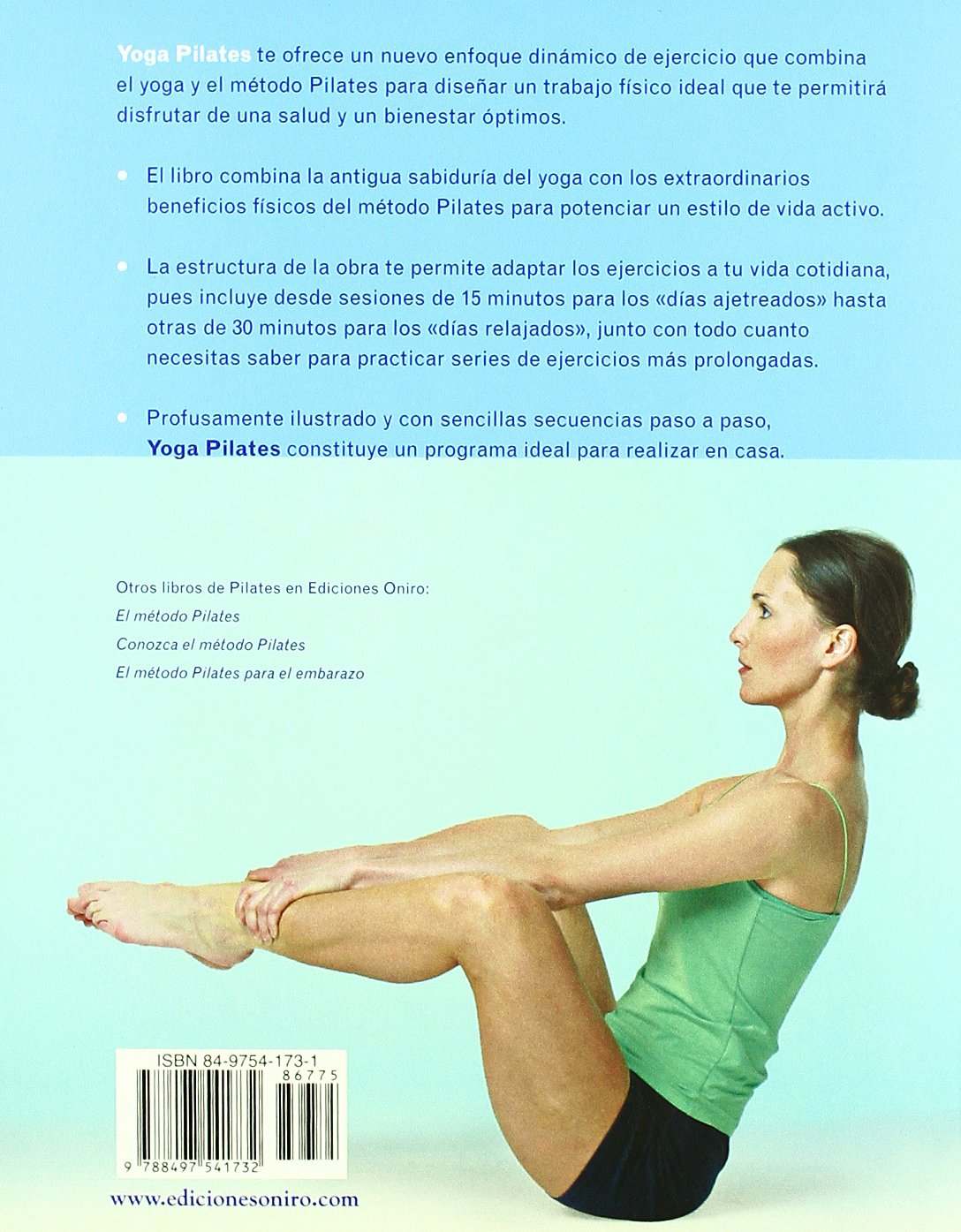 Yoga Pilates / Yogapilates: Ejercicios equilibrados para una ...