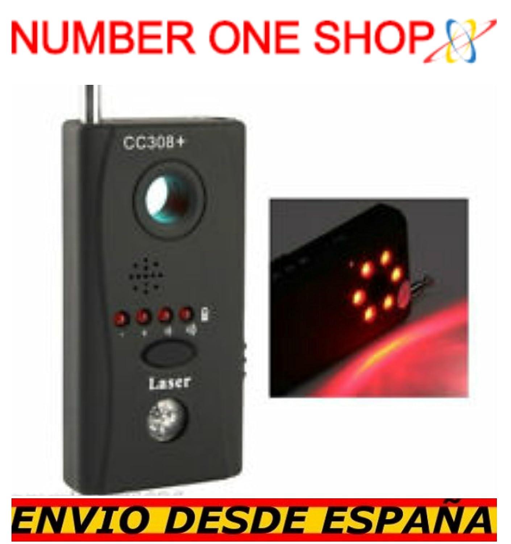 -Thenumberoneshop-Detector de camaras Ocultas Anti espia Sistemas inalambricos WiFi RF microfonos: Amazon.es: Bricolaje y herramientas