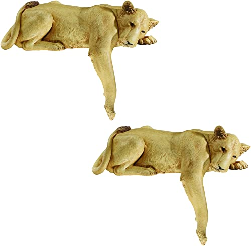 Design Toscano Lioness of Namibia Garden Wall Animal Statue