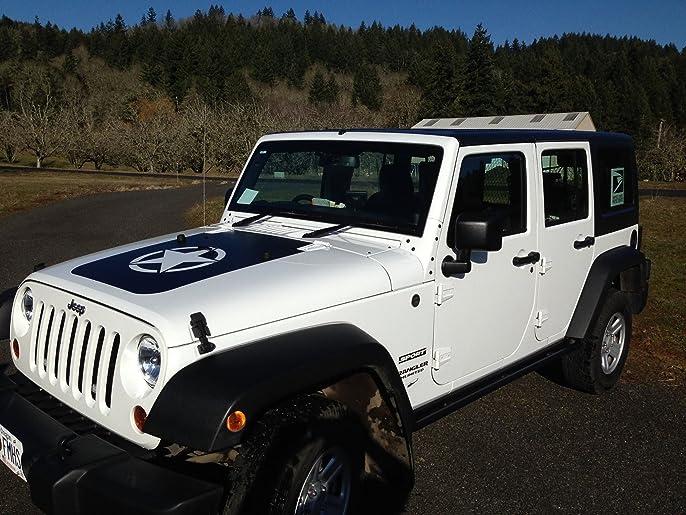 Jeep Hood Decals Canada Kamos Sticker - Jeep hood decalsmatte black jeep hood decal