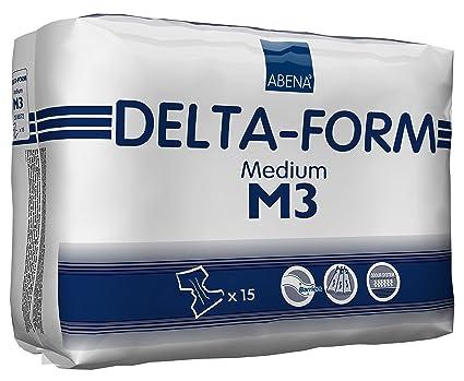 ABENA Delta Form M 3 - Pañales para adultos (talla M)