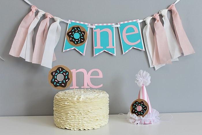 Amazon Donut Birthday First Birthday Girls First Birthday