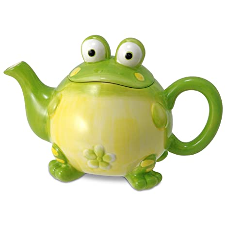 Ordinaire Adorable Toby The Toad/Frog Teapot For Kitchen Decor, Green, 32 Oz
