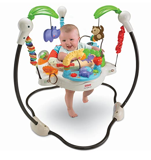 Fisher-Price Luv U Zoo Jumperoo  by Fisher-Price - My Mom's Best